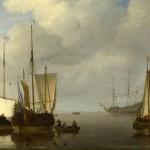 Вельде,Виллем ван де (Willem van de Velde, уoung)