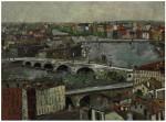 1Maurice Utrillo (1883-1955)_La Garonne et les ponts a Toulouse (Haute-Garonne) _ Oil on board laid down on cradled panel _ 54 x 73 cm_ Painted circa 1909