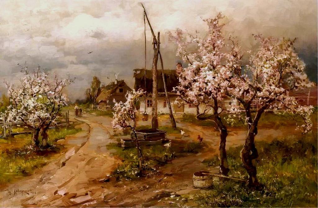 Купить картину весна