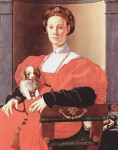 25436891_Pontormo_Jacopo_Portrait_of_a_Lady_in_the_Red_Dress_poster_b