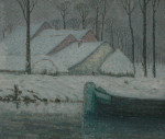 706px-William_Degouwe_de_Nuncques_-_Snowy_landscape_with_barge