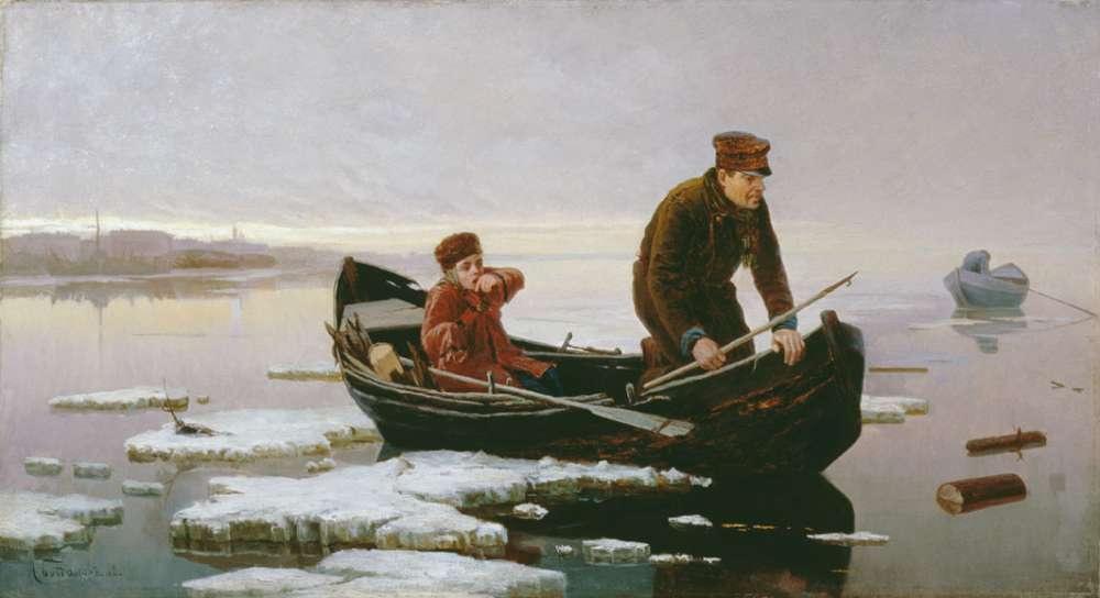 изложение возвращение с рыбалки