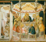 800px-Assisi-frescoes-last-supper-3931_Lorenzetti_Pietro
