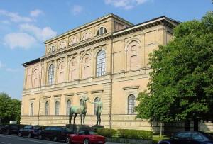 Cтарая  Пинакотека в Мюнхене