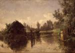 Carlos_de_Haes_-_Canal_abandonado__Vriesland_(Holanda