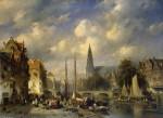 Charles-Henri-Joseph-Leickert-Urban-Landscape-2-