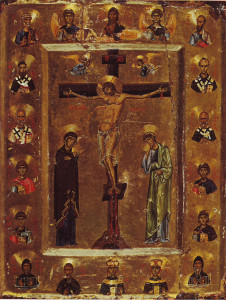Crucifixion_Icon_Sinai_12th_century