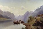 Eckersberg__Brautfahrt_auf_d_Hardangerfjord__1865__Stockholm_NM_1489.jpg