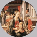 Fra_Filippo_Lippi_-_Madonna_with_the_Child_and_Scenes_from_the_Life_of_St_Anne_-_WGA13237