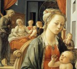 Fra_Filippo_Lippi_-_Madonna_with_the_Child_and_Scenes_from_the_Life_of_St_Anne_(detail)_-_WGA13239