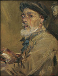 Francesc_Gimeno_-_Self-portrait_with_Cap_-_Google_Art_Project