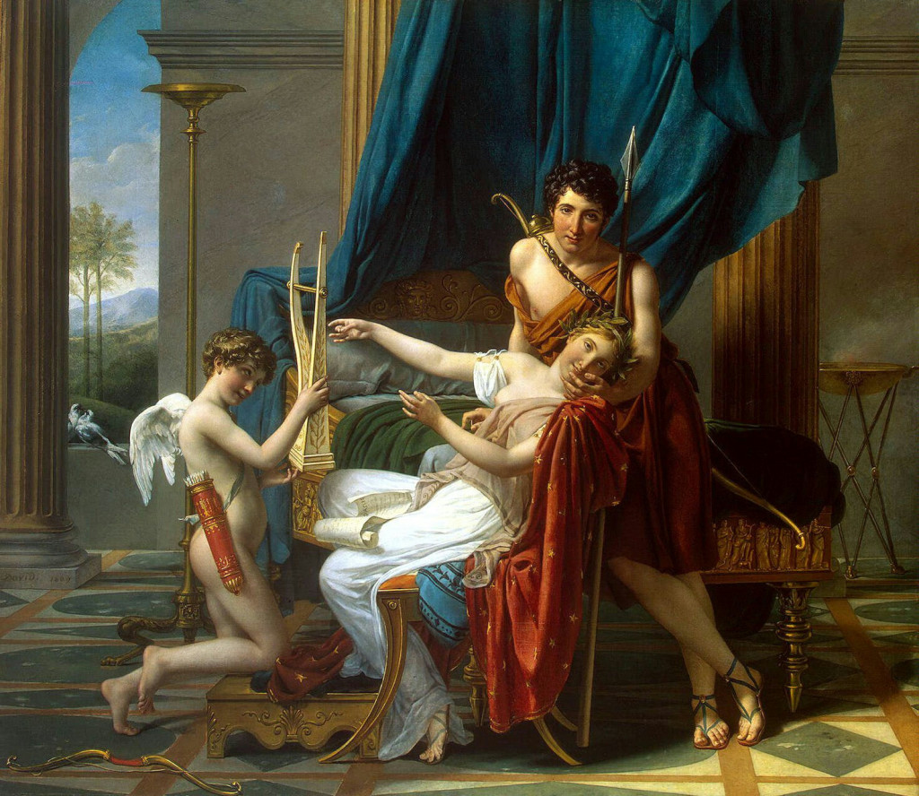 Jacques-Louis David - Sappho and Phaon 1809.jpg