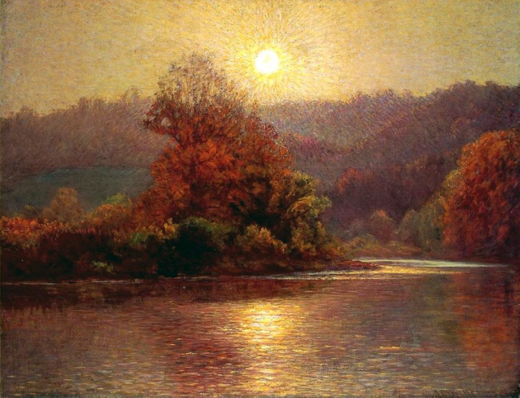 <b>�The Closing of an Autumn Day�,</b> 1901<br />����� ������� �������, ��������.<b> ����� :</b>   50x70.�����, �����. ����� �. 2013<br />���� � ������� 44600 �. ��������� �������(�����)-4950 �. <b> �� �������� ��������� �������.</b>