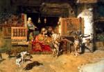 Mariano Fortuny--El vendedor de tapices_1870