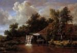Meyndert Hobbema - A Watermill
