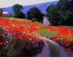 Romona-Youngquist_-Amerikanskiy-peyzazh-v-zhivopisi_-Summertime_-48h60-dyuymov_-Maslo