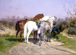 Ronner_Henri_tte_Katjesspel_1860_1878