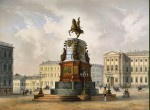 Schulz_Carl-ZZZ-View_of_the_Monument_to_Emperor_Nicholas_I_on_St_Isaac_Square
