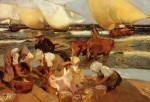Sorolla_y_Bastida_Joaquin_Beach_at_Valencia_aka_Afternoon_Sun.jpg
