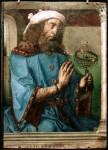 Spanish-Painter-Pedro-Berruguete-Giusto-di-gand-e-pedro-berruguete-tolomeo-Oil-Painting