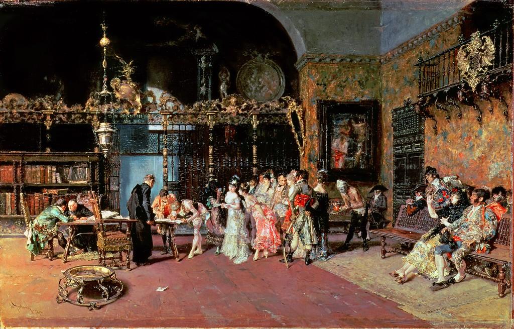 <b>«Испанская свадьба»,</b> 1870<br />Национальная галерея Канады,Оттава.<b> Копия :</b>   30x50.Холст, масло. Ильин О.. 2015<br />Цена с багетом 29200 р. <b> Не является публичной офертой.</b>