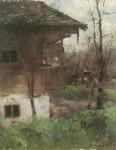 leibl-hubertus-maria-wilhelm--bauernhausgarten-790359