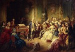 Mozart und Maria Theresia / Ender 1869 - Mozart a.Maria Theresa / Ender / 1869 - Mozart, Johann Chrysostomos Wolfgang Got