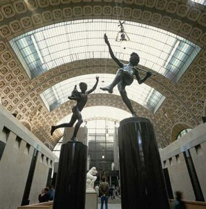 Statues in Musee d'Orsay