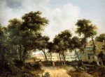 posterlux-hobbema_meindert-hobbema_meindert_ruined_cottages_in_forest_sun
