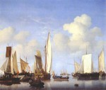 posterlux-velde_van_de_willem_jr-velde_the_younger_a_states_yacht_and_other_ships_c1658_60