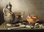 siftingthepast_still-life-with-jug-berkemeyer-and-smoking-utensils_pieter-claesz_17th-century
